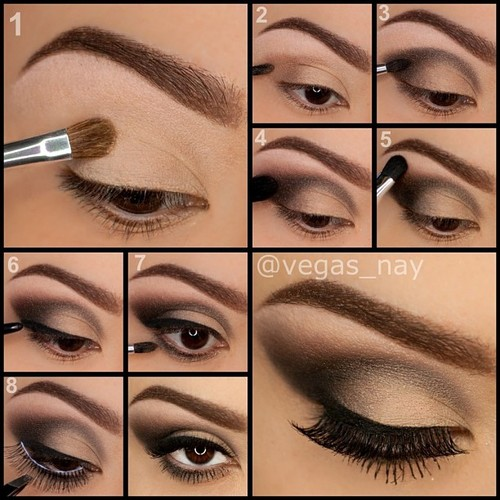 step by step smokey eye makeup beauty and fashion by keja