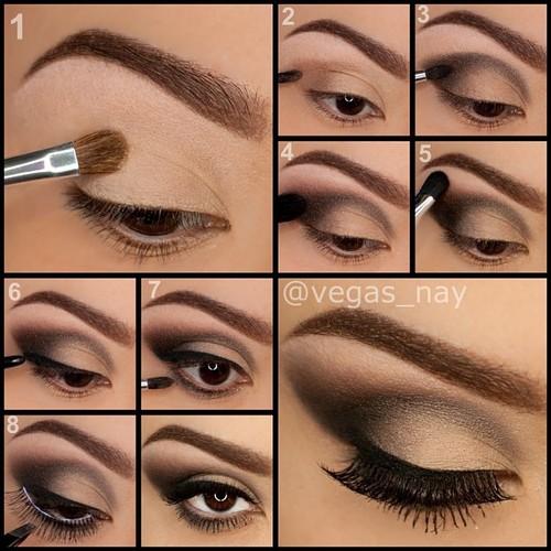step by step smokey eye makeup | Beauty and fashion by keja